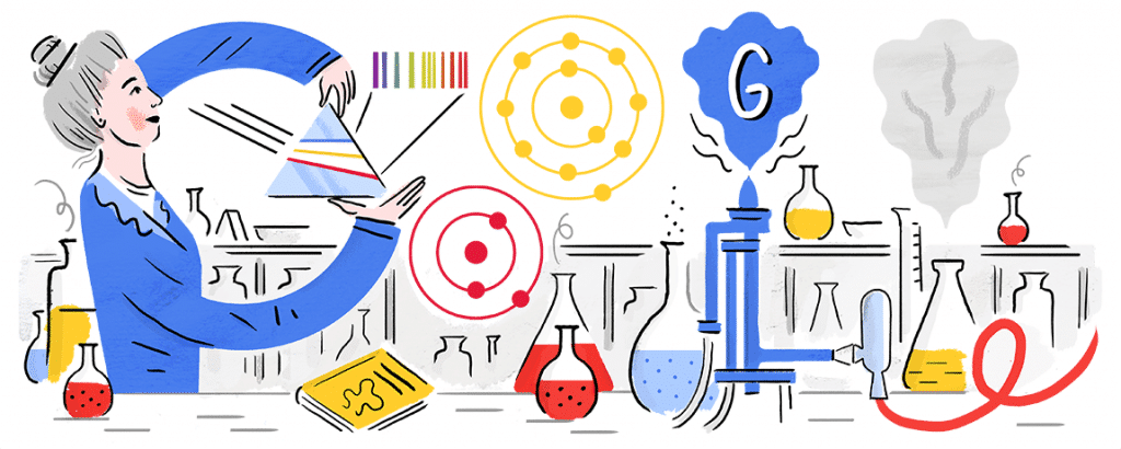 logo google anniversaire hedwig kohns